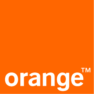 English: Vector logo of Orange brand עברית: לו...