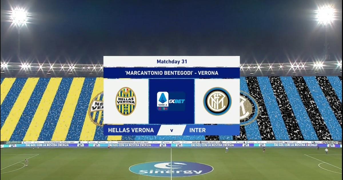 Serie A 19/20 - Matchday 31 - Hellas Verona vs Inter Milan ...