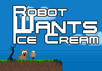 Help robot to fight these beasts to give the doggy some ice cream in Robot Wants Ice Cream! #OnlineGames #RetroGames #PlatformingGames #RobotGames #FlashGames