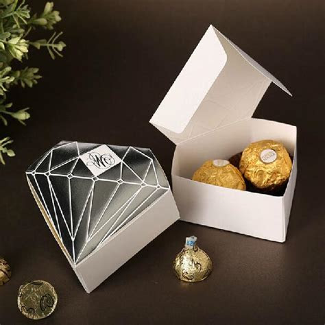 Creative Diamond Design Candy Boxes Classic Candy Gift