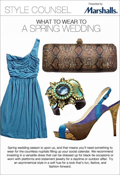Spring wedding season is upon us, and that means you'll need something to wear for the countless nuptials filling up your social calendar. - What to Wear to a Spring Wedding