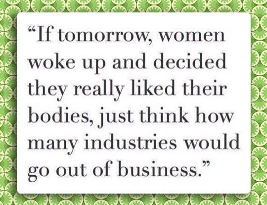 Low Self Esteem Is Good Business