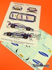 Calcas 1/24 Racing Decals 43 - BMW M3 Samsung Nº 2 - Joey Hand - DTM 2012 - para kit de Revell REV07178 y REV07082 image