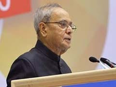 President Pranab Mukherjee Returns From 14-Day Stay In Southern India