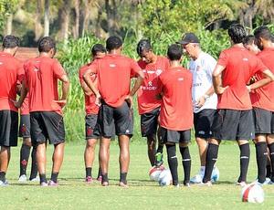 Dorival Junior no treino Flamengo (Foto: Alexandre Vidal / Fla Imagem)