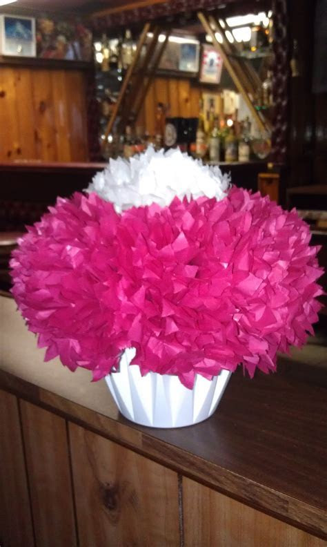 Tissue Paper Flowers as Centerpieces   Wedding   Bridal