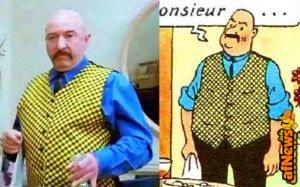 Quanto Hergé nei film francesi?