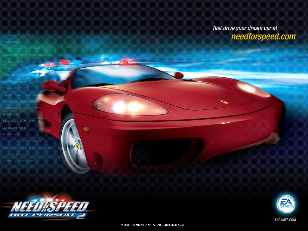 Need For Speed Hot Pursuit 2 2002 Promotional Art Mobygames