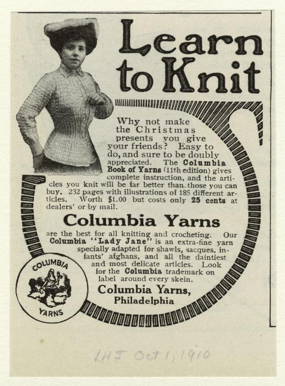 Learn to Knit, 1910