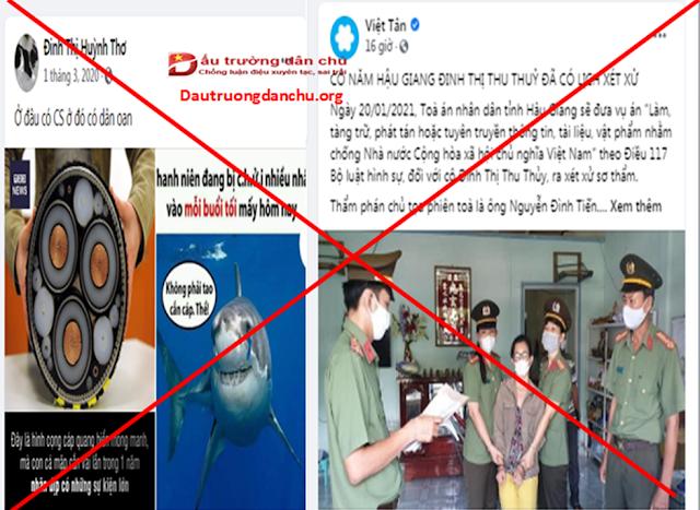 Lại giở trò đồn đoán về phiên tòa xét xử kẻ chống phá Đinh Thị Thu Thủy