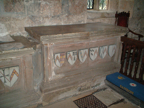 Tombs at sandon Church