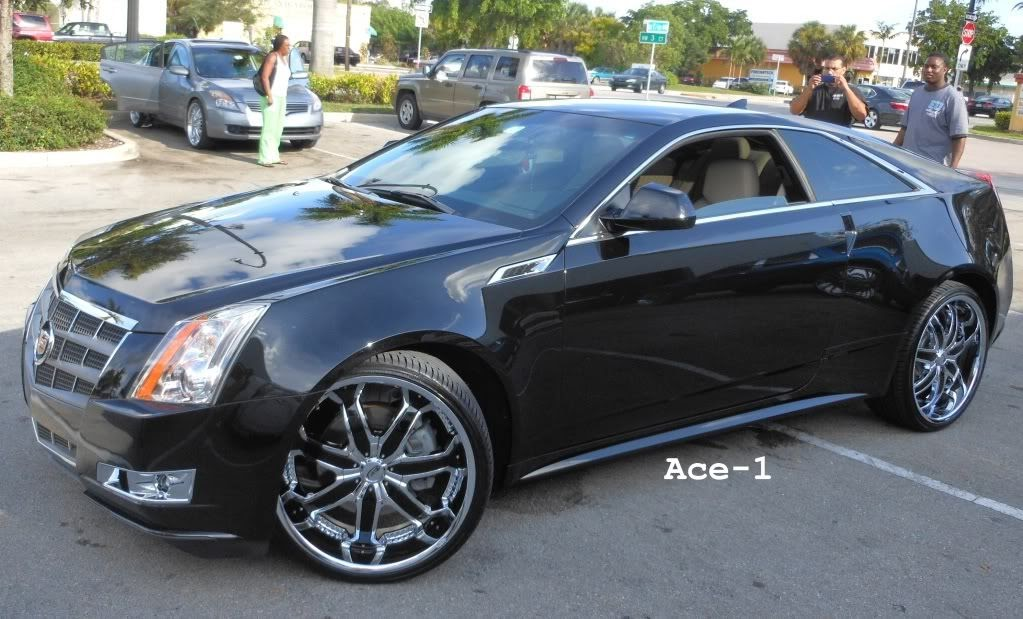 Ace 1 C2c Customs 2011 Cadillac Cts Coupe On 22 Quot Kurvs