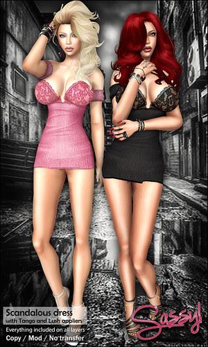 Scandalous dress for Boobies Show