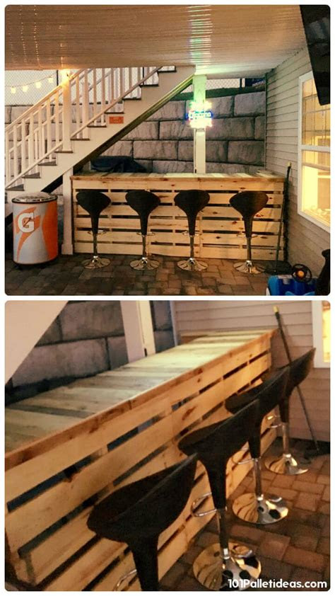 loved pallet bar ideas projects page