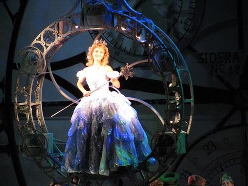 Glinda in Bubble