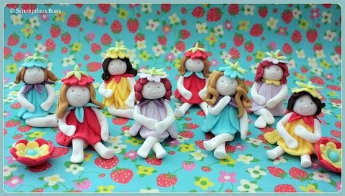 Flower Pixies by Scrumptious Buns (Samantha)
