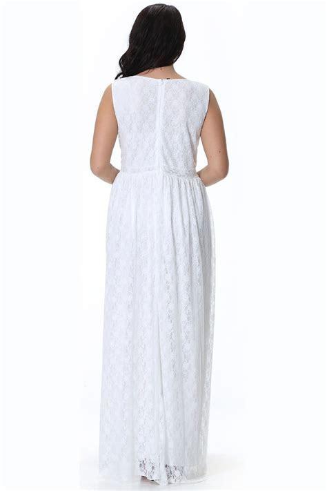 KETTYMORE WOMEN WEDDING SLEEVELESS V NECK PLUS SIZE DRESS