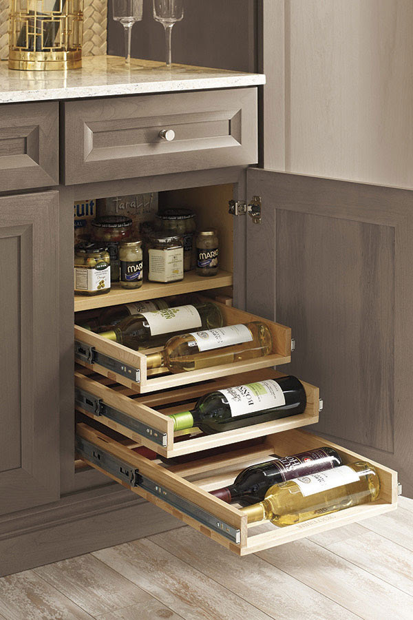Thomasville - Organization - BASE WITH CAN AND WINE BOTTLE ...