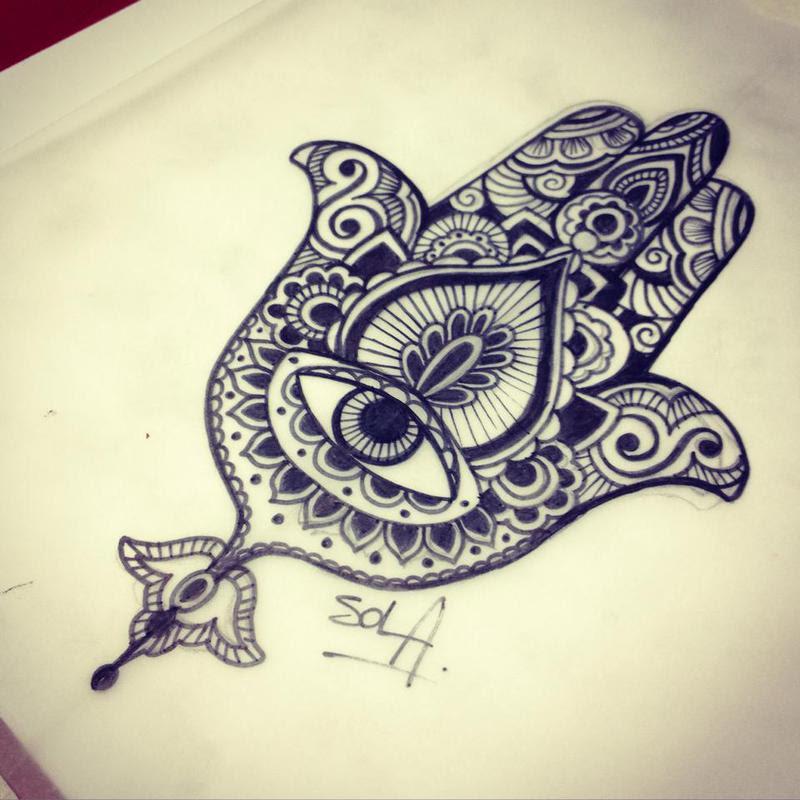 Diseño Mano De Fátima