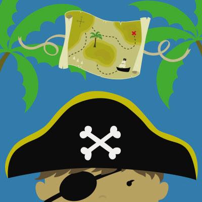 Peek-a-Boo Heroes: Pirate