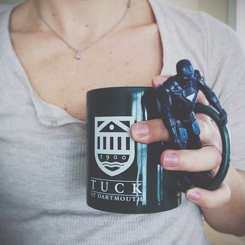 11. Green (mug...and blue iron man) #fmsphotoaday