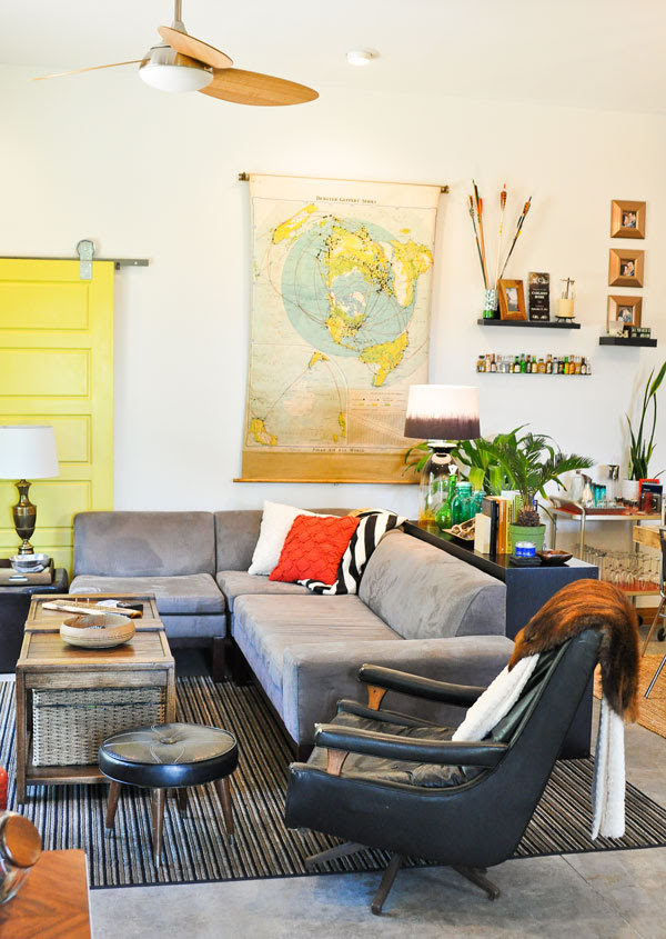 living-room-yellow-door-west-elm-lorimer-sectional-sofa-couch-rustic-style