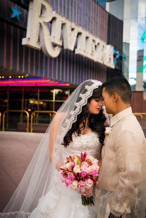 Vegas Wedding Full of Pure Romance {Riviera} » Little