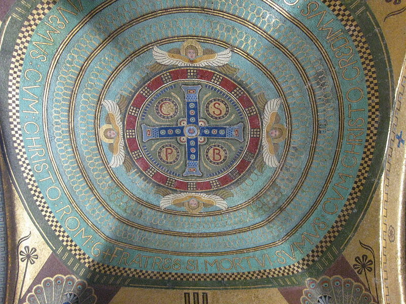 Monte Cassino Crypt Mosaics 01.JPG