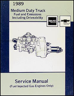 1989 GMC Chevy C&B 5000-7000 Series 6.0L Fuel and ...