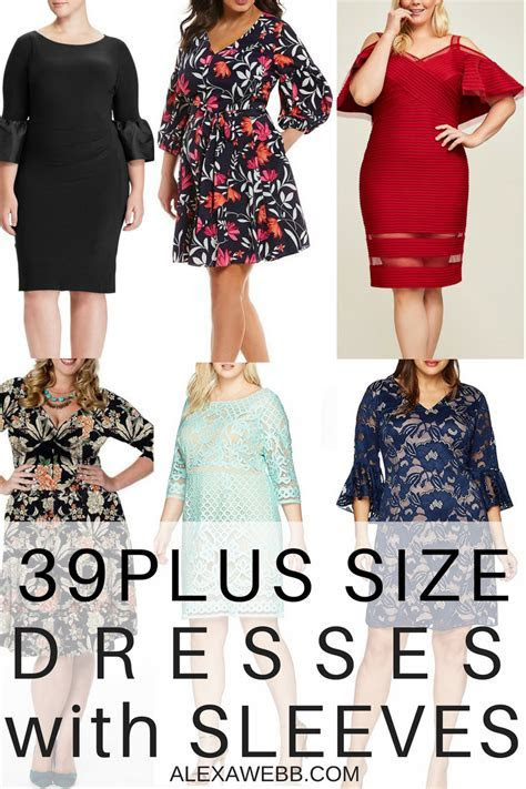 39 Plus Size Spring Wedding Guest Dresses {with Sleeves