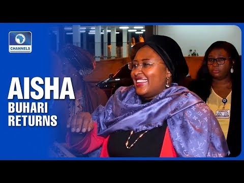 Why I stayed back in the UK - Aisha Buhari addresses rumour, gives clarification
