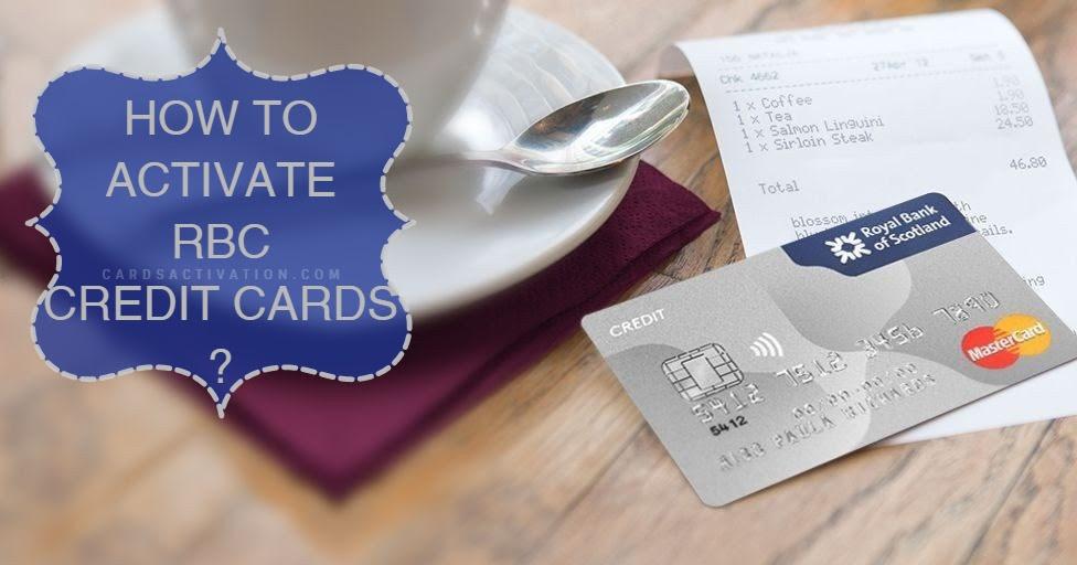 RBC Credit Card Activation