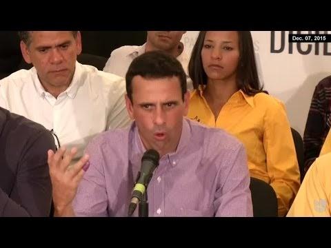 """CAPRILES: """"MUCHA GENTE VOTÓ PARA CASTIGAR AL GOBIERNO"""""""