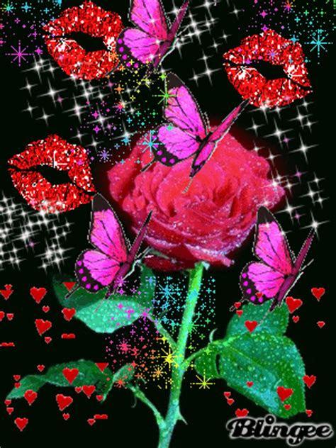 animasi gif lucu  wallpaper bunga