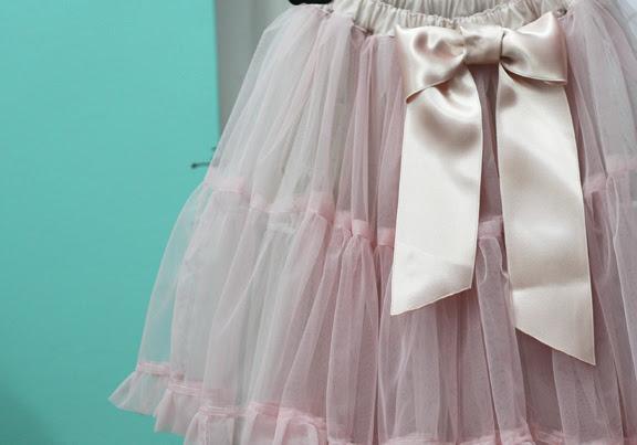 ballet tulle skirt