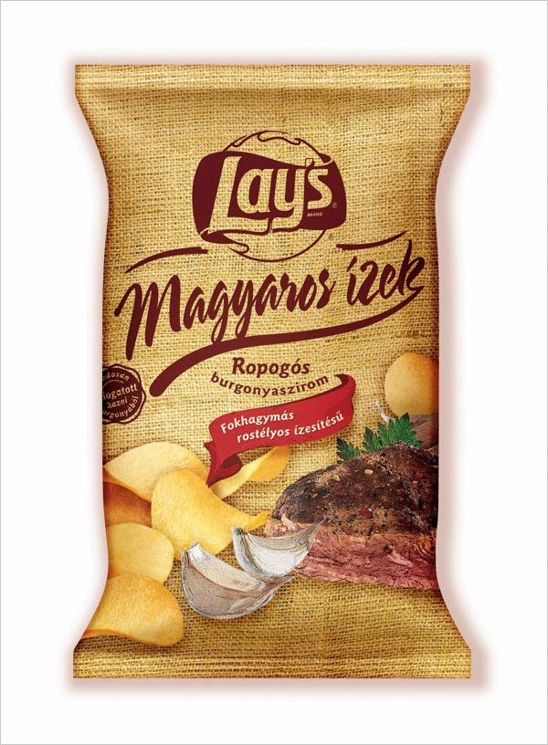 Lays Chips Packaging Design Magyaros 3 30+ Crispy Potato Chips Packaging Design Ideas