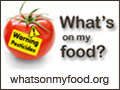 Find out what's on your food at: whatsonmyfood.org