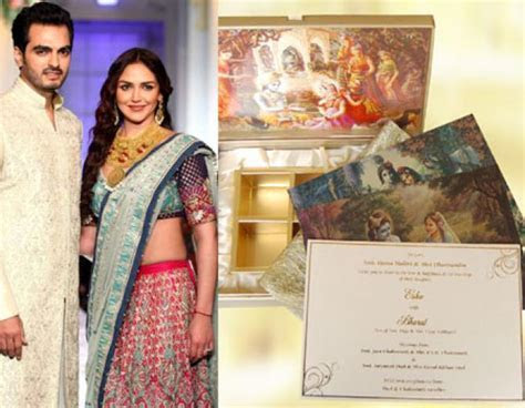 10 Bollywood Celebrity Wedding Invitation Cards You Can