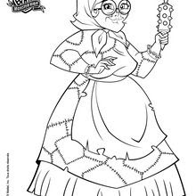 Monster High Skelita Coloring Pages At Getdrawingscom Free For