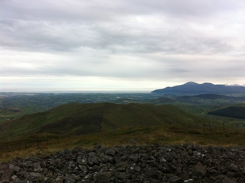Towards the Mournes