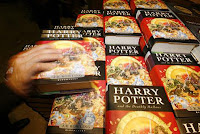 A successful year for reading: Harry Potter and the Deathly Hallows, the seventh and final book in the series about the boy wizard by J K Rowling was 608 pages long, but children and adults rushed to read it. Released globally in 93 countries, Deathly Hallows broke sales records as the fastest-selling book ever, selling more than eleven million copies in the first twenty-four hours following its release in July