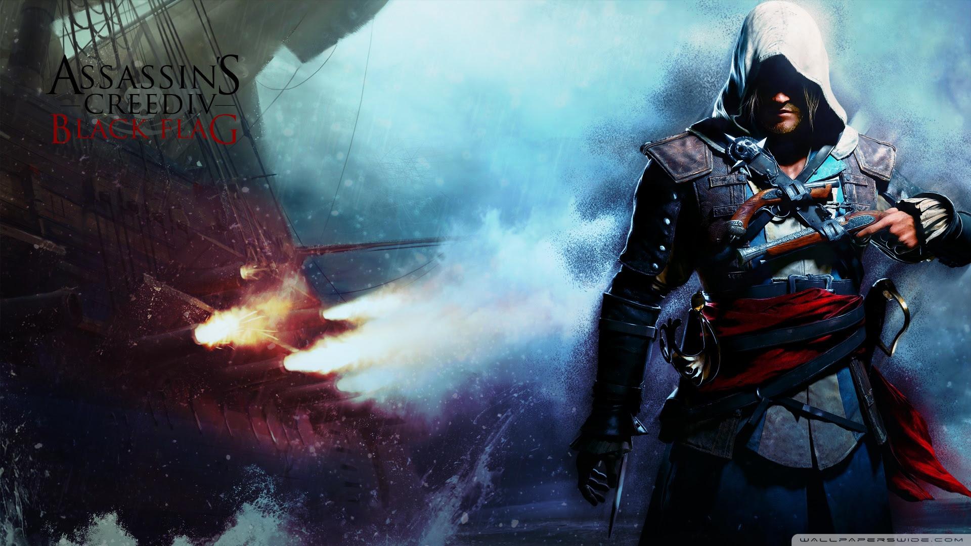 Assassin Creed Iv Black Flag Wallpaper Ultra Hd Desktop Background