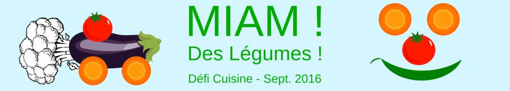 Recettes de Defi Miam des Legumes