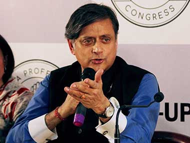 File image of Congress leader Shashi Tharoor. PTI