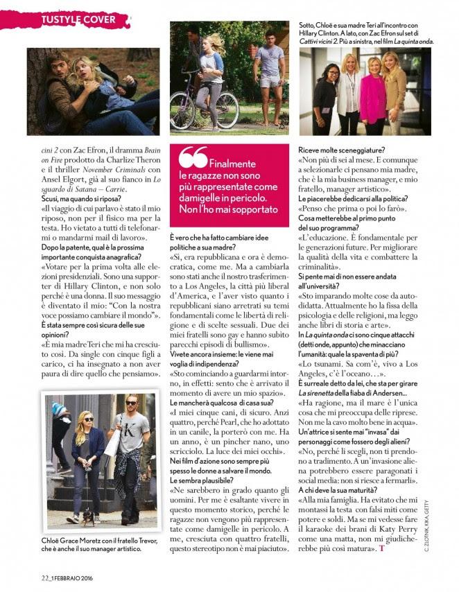 Chloe Moretz: TuStyle Magazine 2016 -02