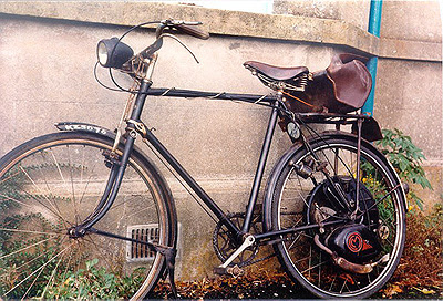 Cyclemaster in Ireland  1963
