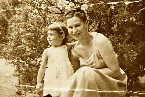Ruth and my mother circa 1948