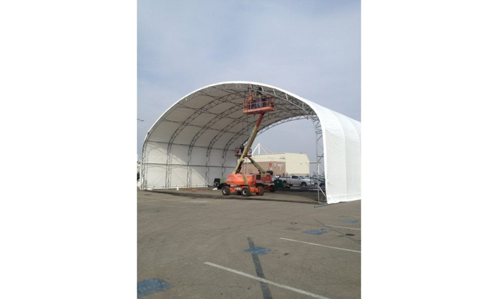 Construct Temporary Storage Structure At Nas Lemoore Ca Jacob