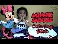 Buku Mewarnai Disney Karakter Minnie Mouse