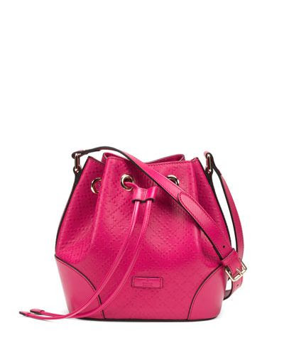 Gucci Bright Diamante Small Bucket Bag